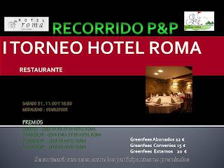 Pitch & Putt El Pilar-Sarria Torneo Hotel Roma