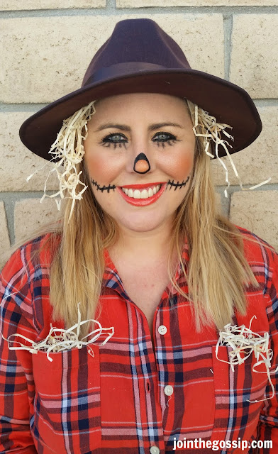 scarecrow Halloween costume makeup
