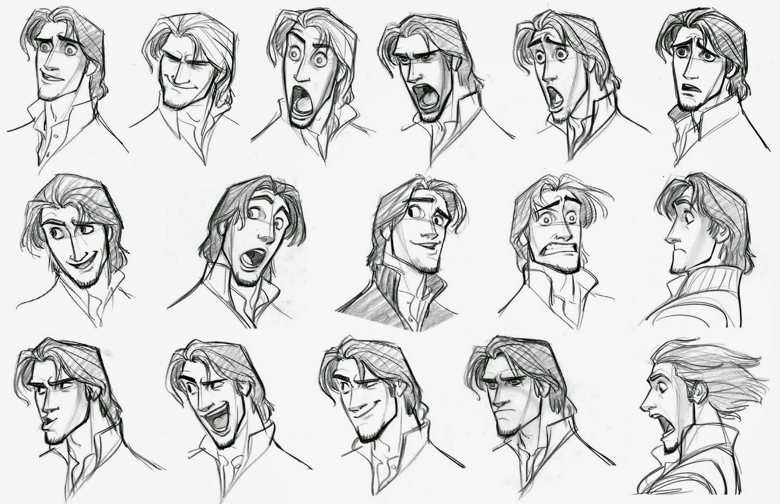 Character Design Expression : Pointpusher