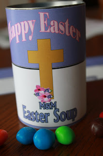 Cream of Easter Soup Free Printable by Kandy Kreations