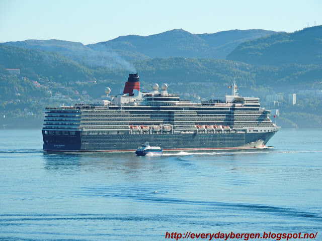 Queen Elizabeth in Bergen