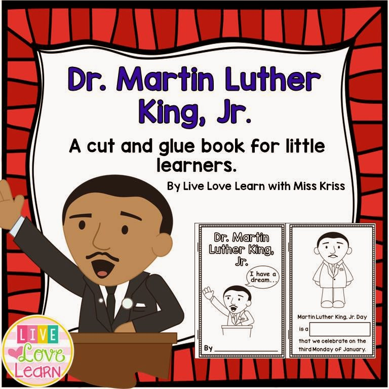 http://www.teacherspayteachers.com/Product/Dr-Martin-Luther-King-Jr-for-Little-Learners-1632069