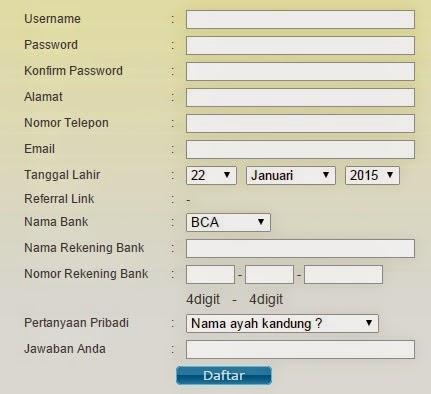 Tips Cara Mendaftarkan Username Togelcc