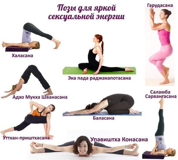 Асаны йоги для восстановления сексуальной гармонии