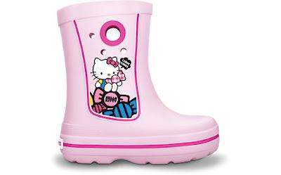 Crocs hello kitty jaunt boots