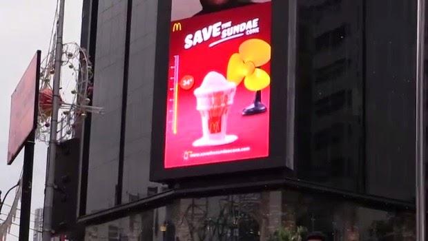 DOOH McDonalds