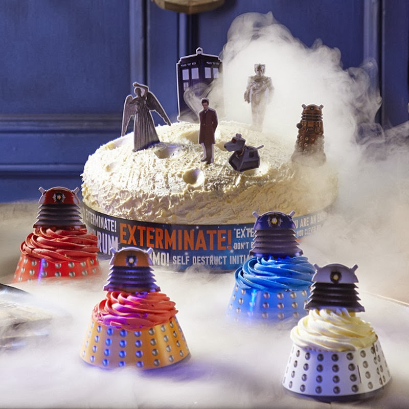 Doctor Who 50th party menu Fashion Detective