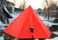 легкоходная палатка пирамида