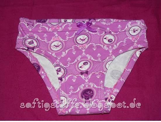 Mädchen-Unterhose aus Jersey