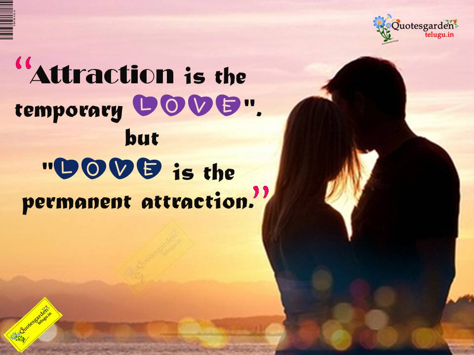 difference between love and attraction