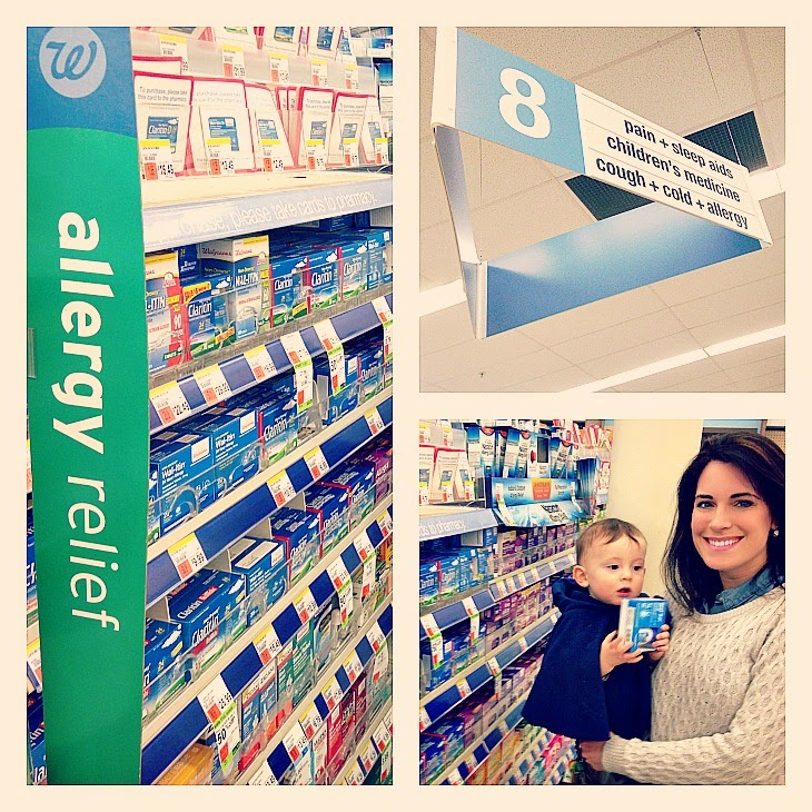 well at walgreens, walgreens, allergy season breastfeeding medicine