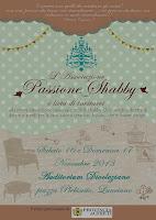Partecipate al primo evento creativo dedicato esclusivamente allo stile Shabby Chic