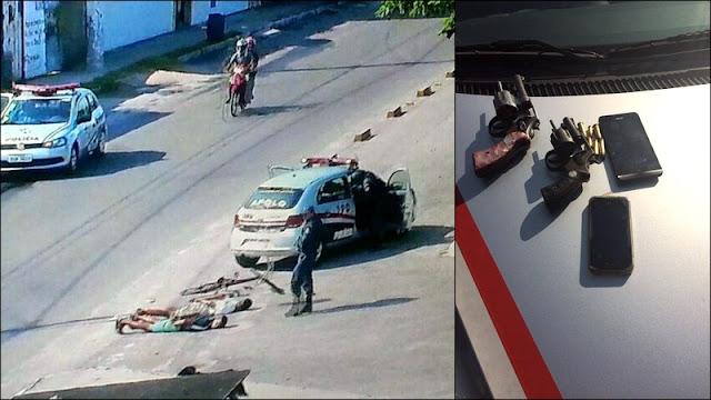 Dois menores são apreendidos com duas armas de fogo em Aracaju