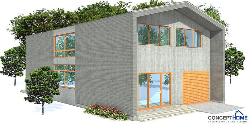 Contemporary house plans contemporary home ch156 for Concept home com