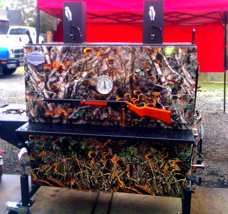 Myron Mixon Smoker : This is the Hunting Man Model