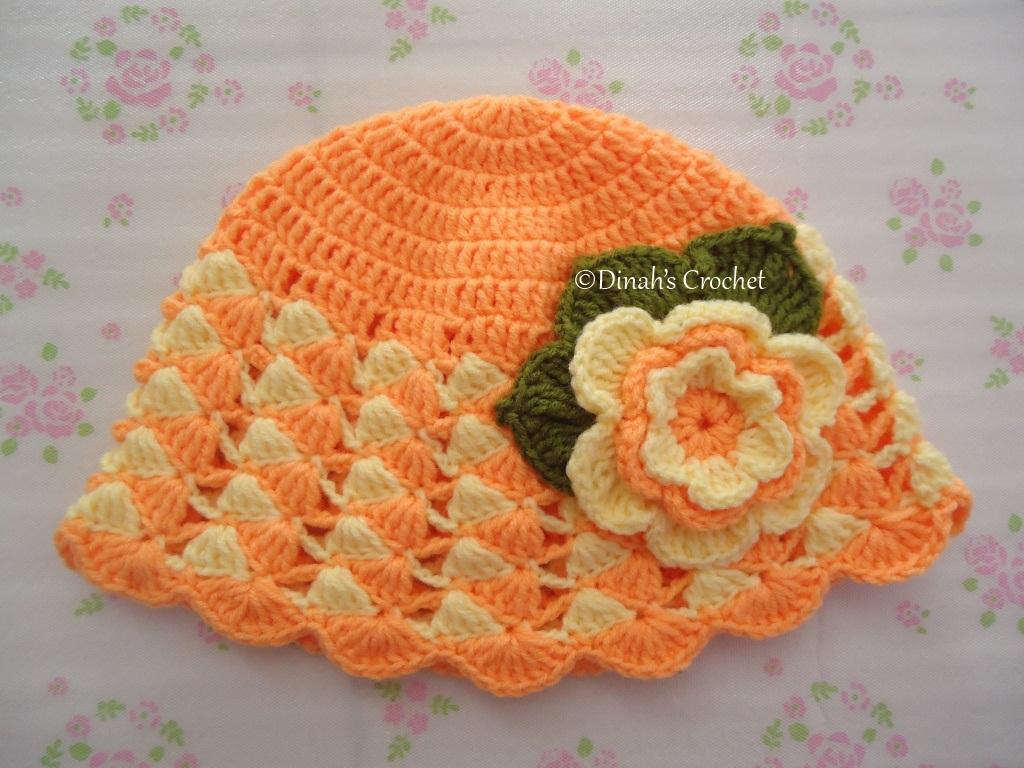Dinah crochet sun hat and booty tutorial bunga disini ccuart Gallery
