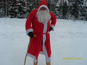 Suomen aito Joulupukki valkoparta Kangasala palveluksessanne