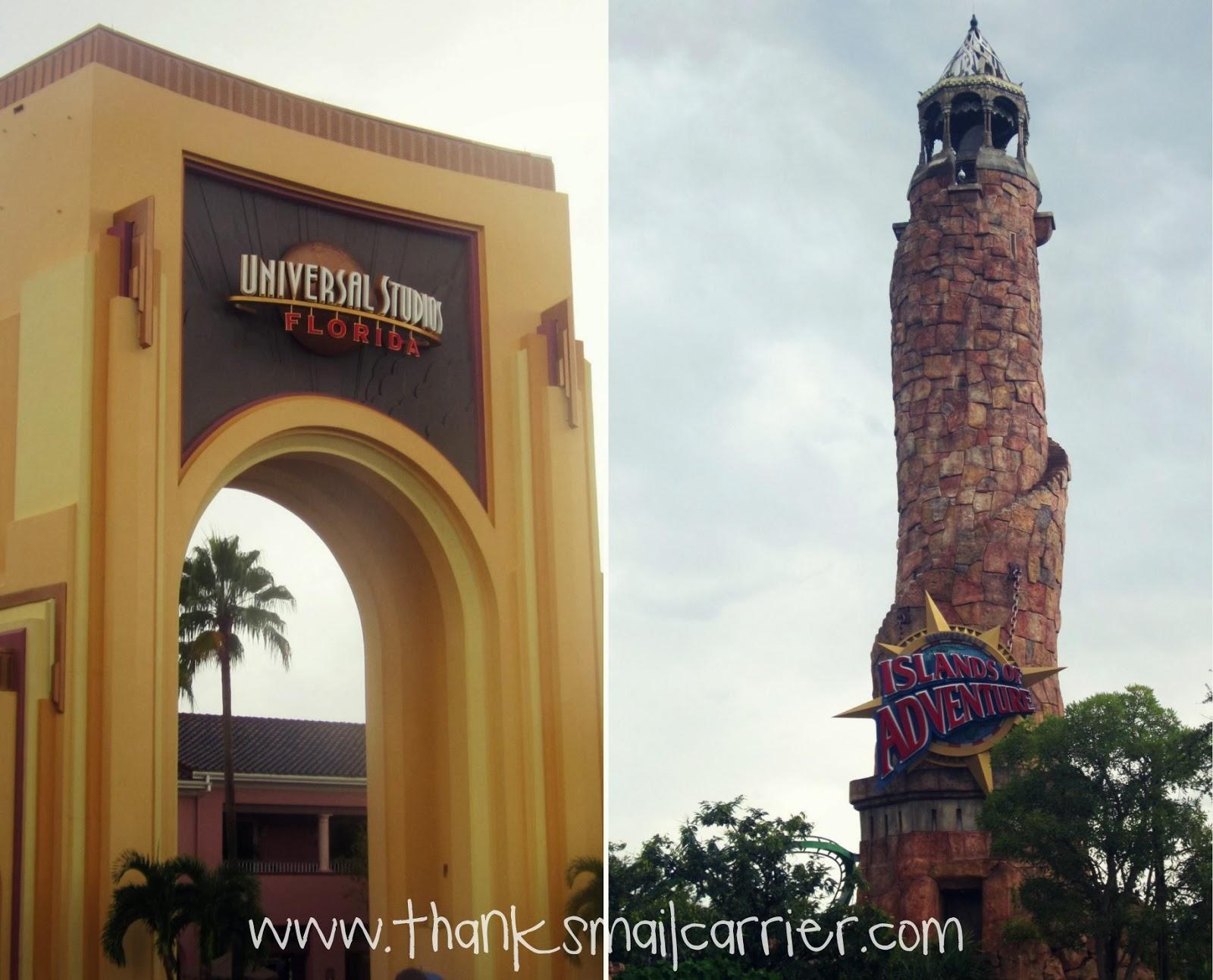 Universal Orlando Resort theme parks