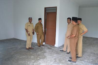 Kakankemenag Tanjungbalai Tinjau Bangunan Kantor Baru KUA Datuk Bandar Timur
