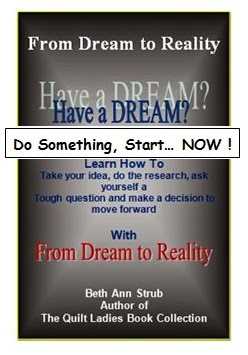 how to make a dream a reality book