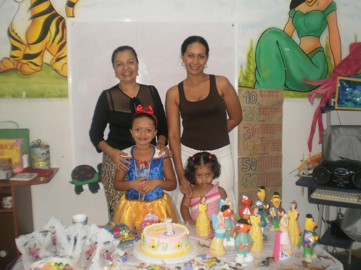 Familia de Stephania, niña estrella