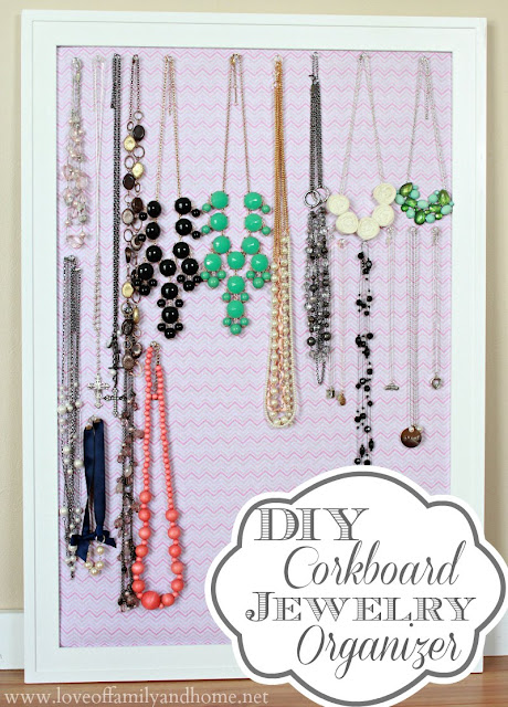 DIY Jewelry Organization