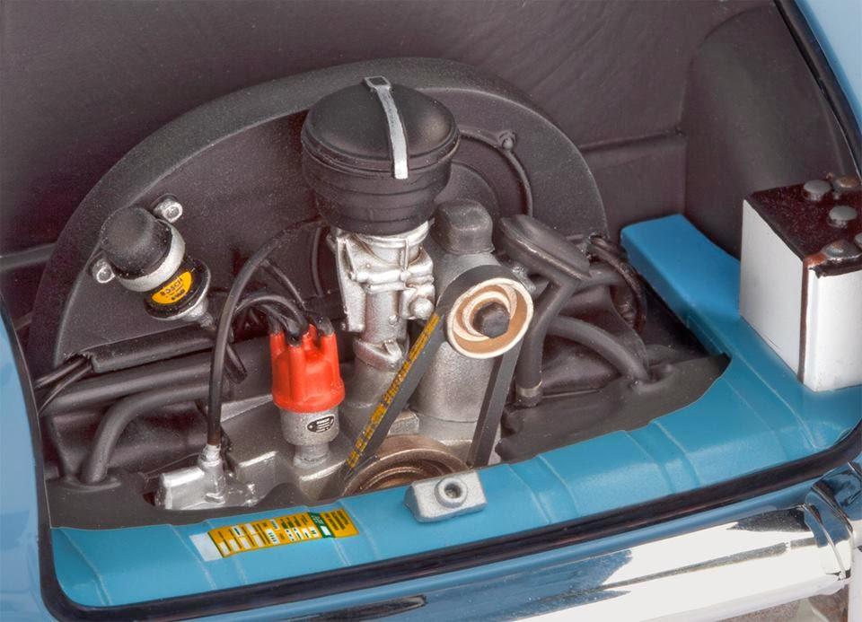 Revell December on 4 Cylinder Boxer Engine Blower
