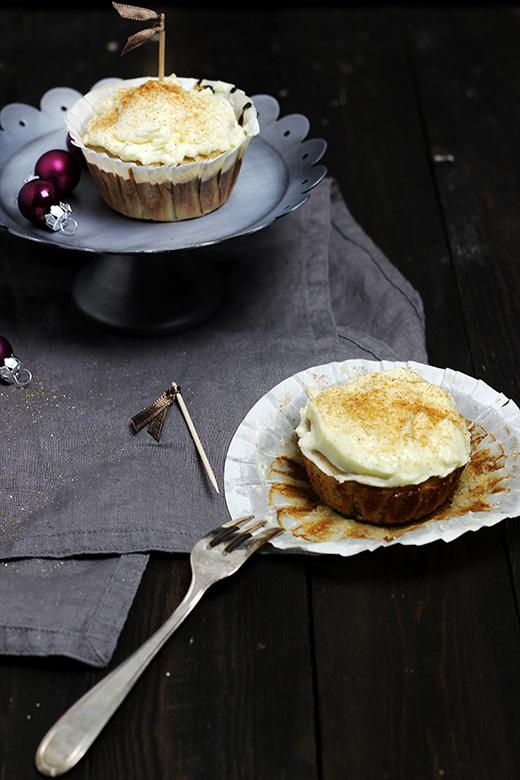 Spekulatiuscupcakes Rezept Weihnachtsbäckerei Advent Holunderweg18