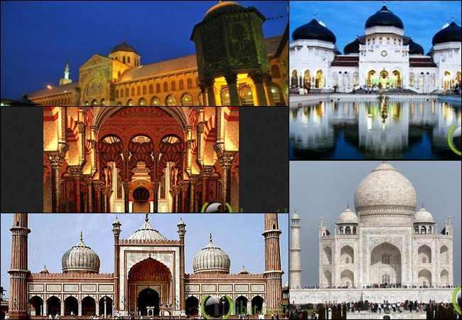 14 Arsitektur Islam menakjubkan dan paling Indah di Dunia