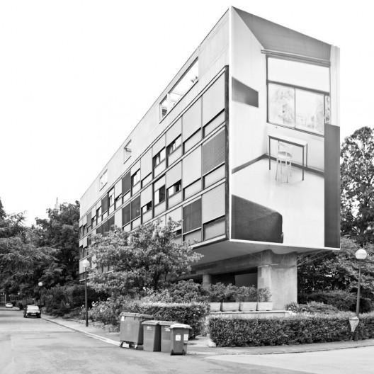 El plan z arquitectura le corbusier pabell n suizo - Arquitecto le corbusier ...