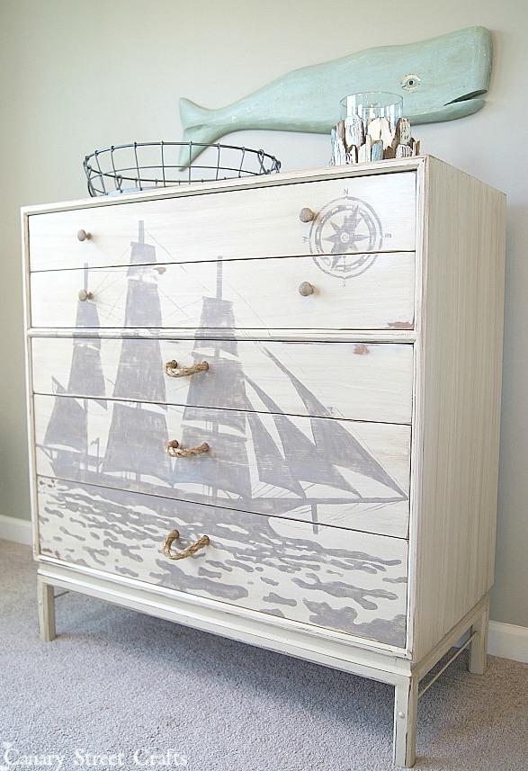 ship silhouette dresser