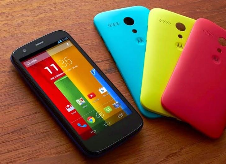 Review Harga & Spesifikasi Motorola Moto G (2014)