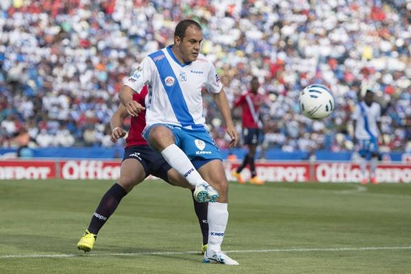 El futbolista mexicano, Cuauhtémoc Blanco, en su regreso a la Primera División del futbol mexicano con el Club Puebla. Partido de la jornada 2 del Apertura 2014 de la Liga MX, Puebla vs. Veracruz | Ximinia