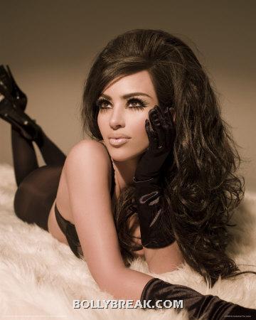 kim kardashian hairstyles - (5) - kim kardashian Bigg Boss 6 Contestant Pics