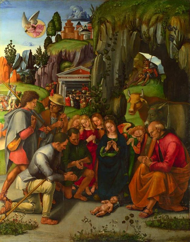 L'Adoració dels pastors (Luca Signorelli)