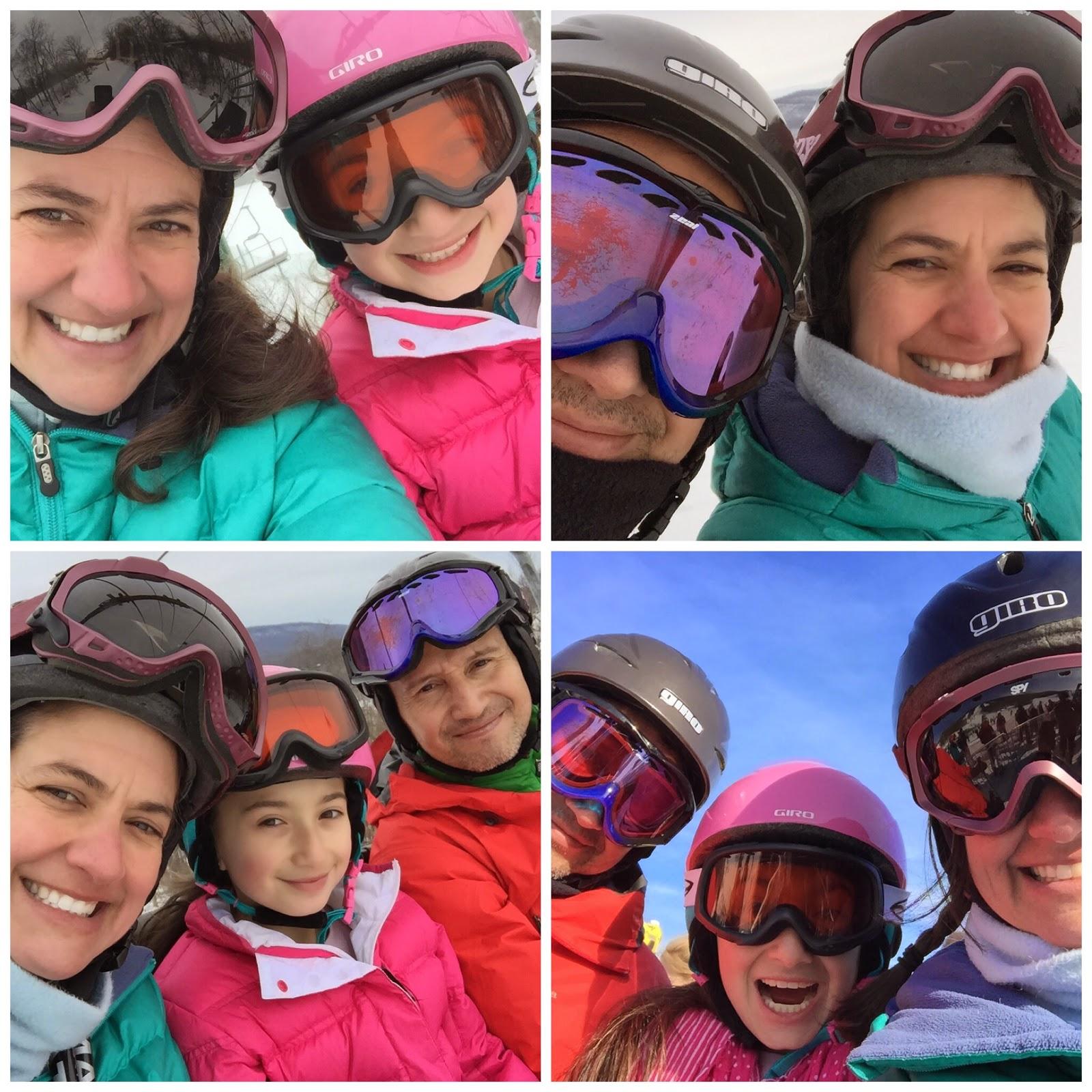 ski selfies