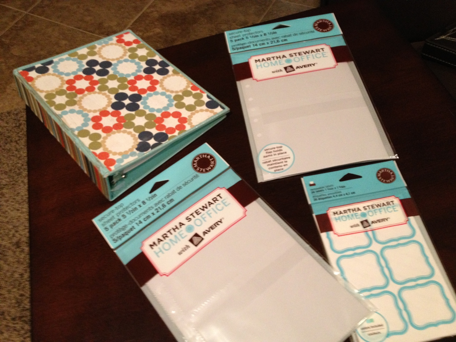 cupcakes and bling tidy up tuesday coupon binder