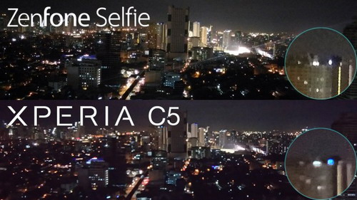 Hasil Foto Asus Zenfone Selfie vs. Sony Xperia C5 Ultra