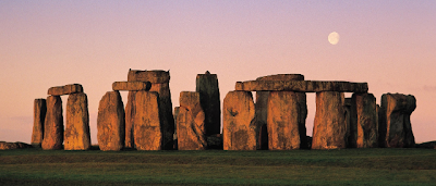 Stonehenge in the evening
