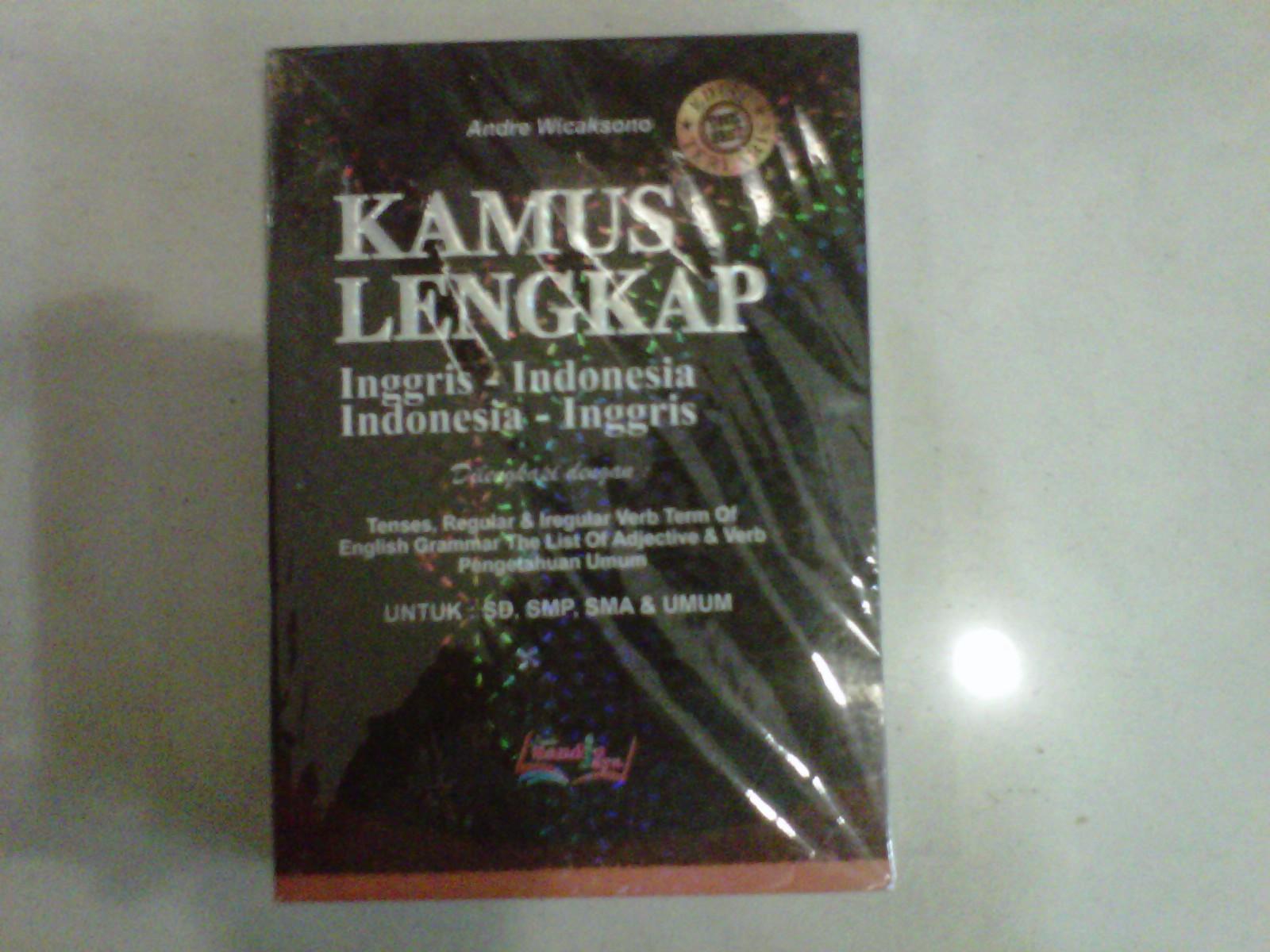 Berbagai macam kamus bahasa inggris-indonesia indonesia-inggris