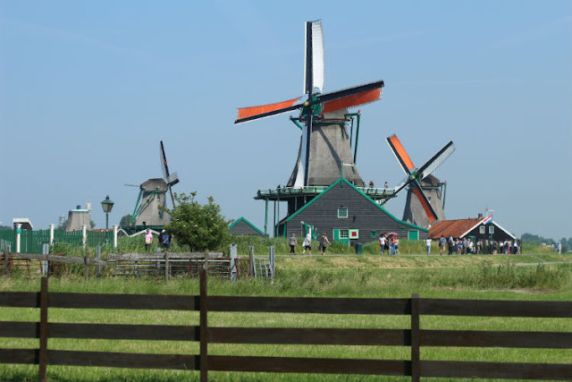 The Windmills at the Zaanse Schans
