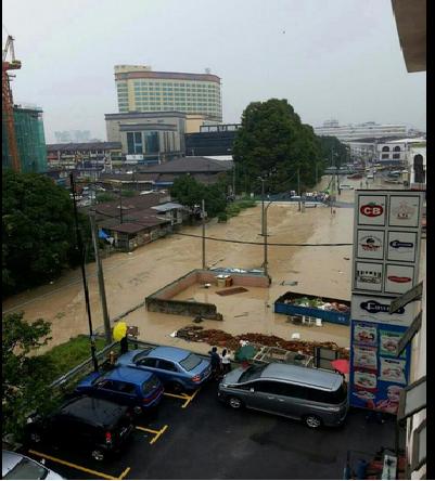 Gambar Banjir Kilat Di Kajang