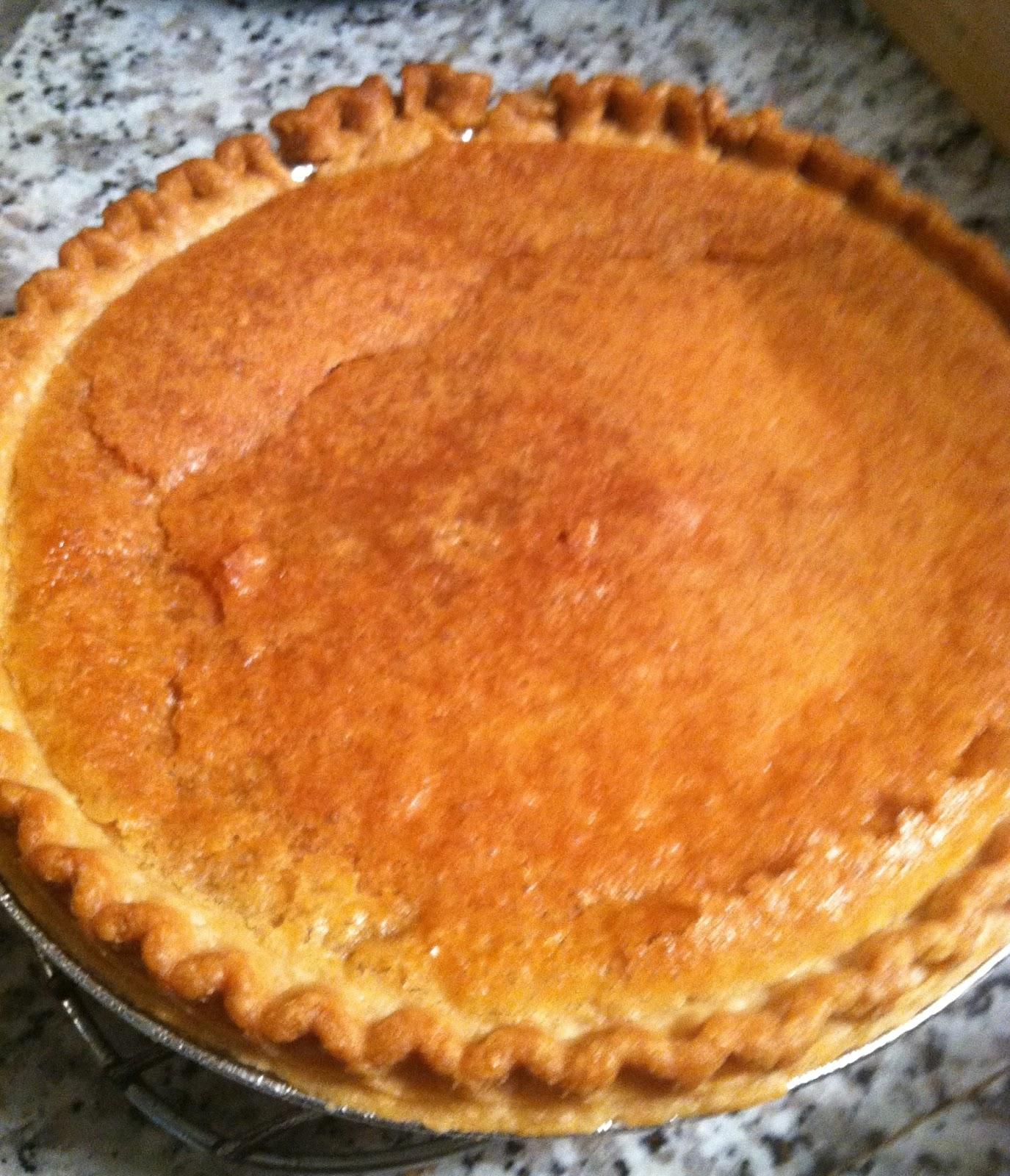 "... Taste: Lemon Chess Pie - with more lemon than most -""It's jess pie"