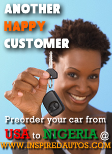 Preorder Your Car From USA to Nigeria
