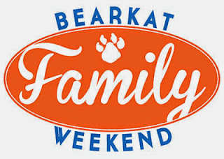 Bearkat Family Weekend log