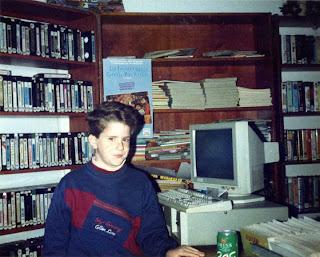 La infancia de Cristian Sema en el videoclub de su padre.