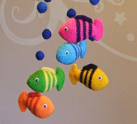 21 Móviles a crochet. | Crochet desde El Tabo.