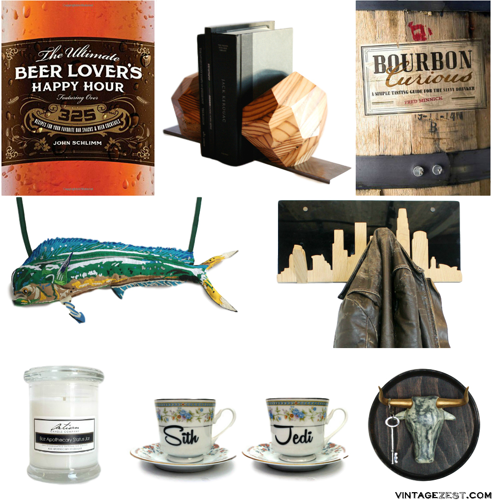 Holiday Gift Guide: For Him on Diane's Vintage Zest!