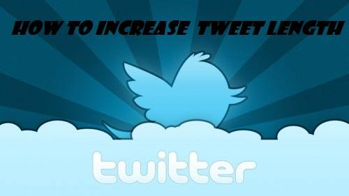 How to increase your tweet length?