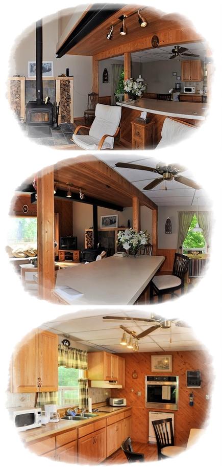 open concept kitchen hardwood floors  | 638 x 476